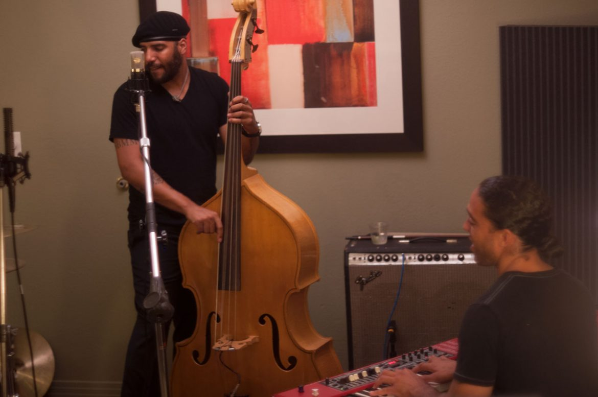 Miles Mosley Trio Recorded By Ross Hogarth At Potluck 2014