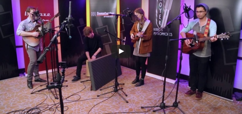 """Laney Jones Band """"The Simple Truth."""" Recorded at Folk Alliance in the Pop-Up Studio"""