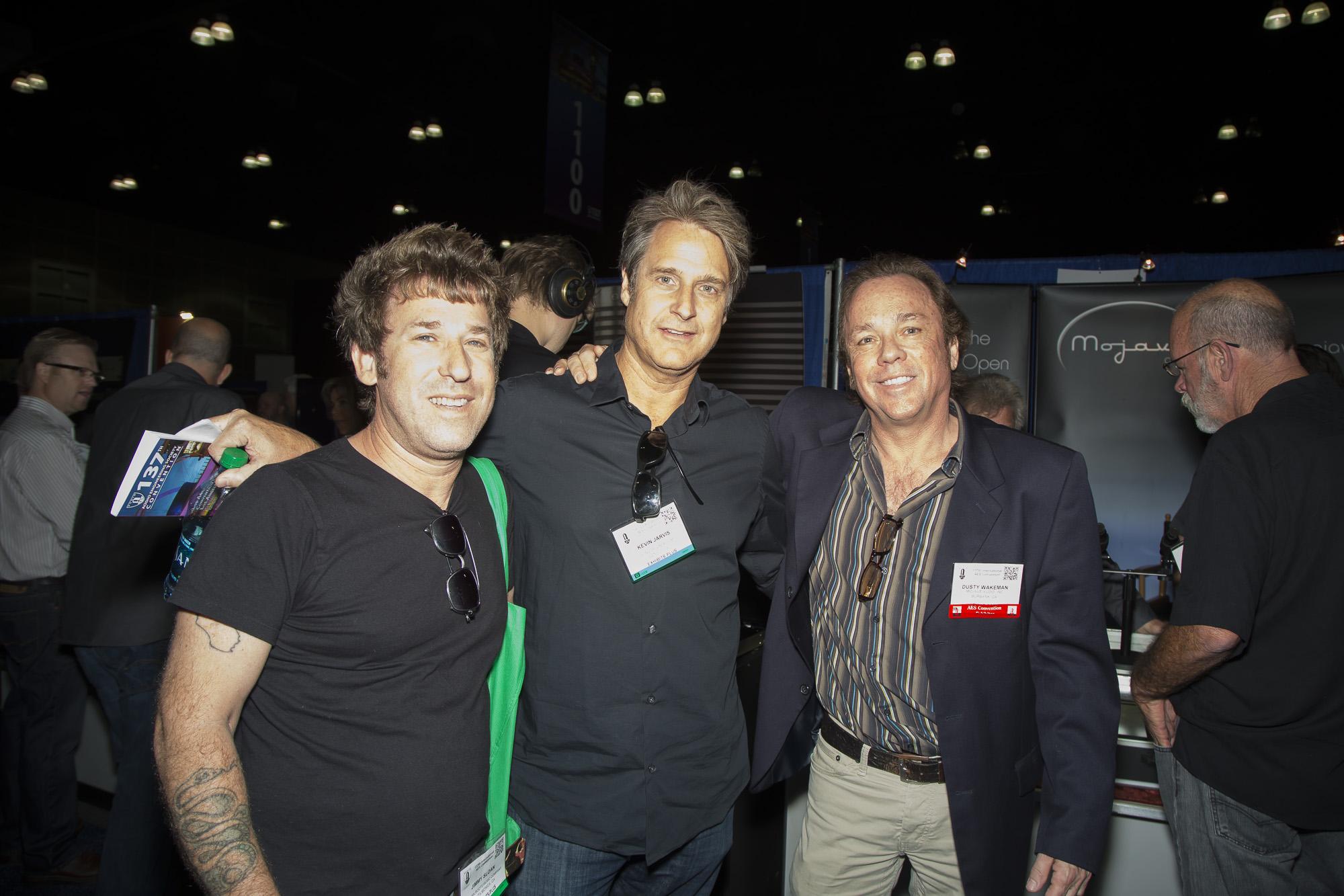 Jimmy Sloan, Kevin Jarvis, Dusty Wakeman