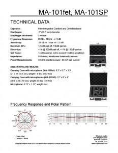 MA-101fetMA101SPCutsheet-tn-02