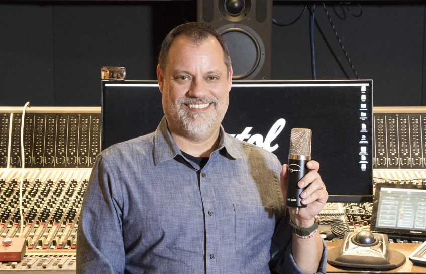 Mojave Audio's MA-300 Is a Hit with Capitol Studios Recording Engineer Steve Genewick