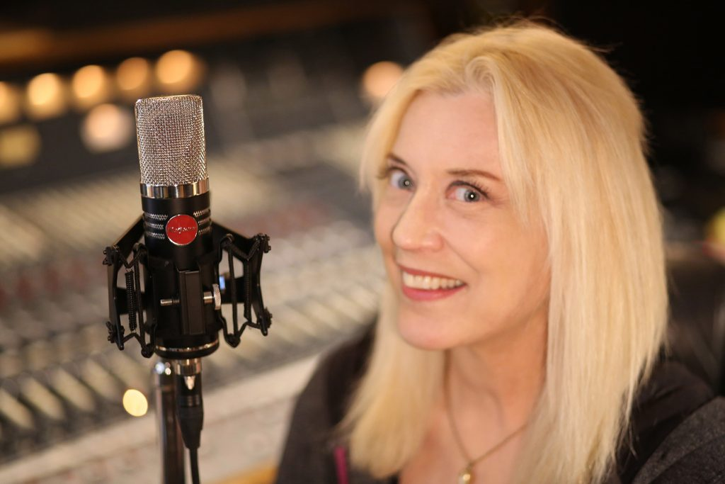 Sylvia Massy with the MA-1000