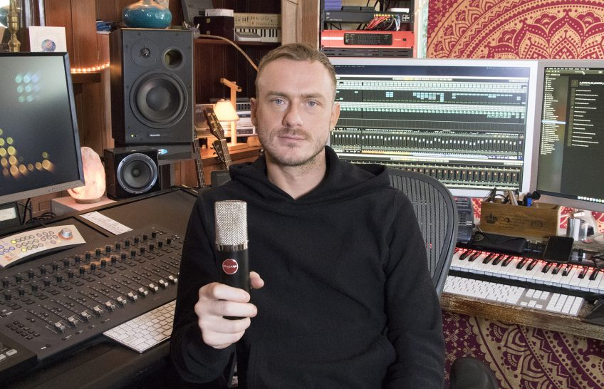 Mojave Audio's MA-300 Captures the Essence of Amos Lee with Producer and Mix Engineer Christian 'Leggy' Langdon