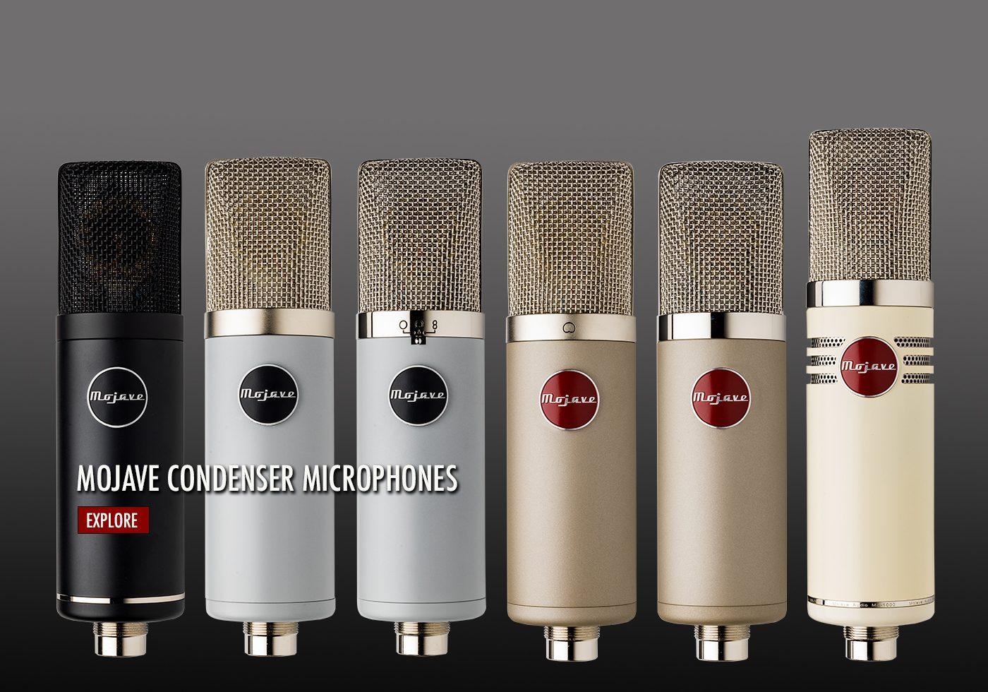 Mojave Condenser Microphones
